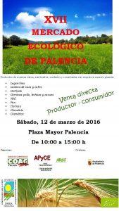 Mercado ecológico Palencia